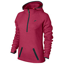 Buy Nike Women's Half Zip Tech Fleece Hoodie Online at johnlewis.com