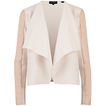 Buy Ted Baker Gaeton Leather Trim Jacket, Shell Online at johnlewis.com