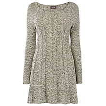Buy Phase Eight Cherry Cable Swing Dress, Cream Online at johnlewis.com