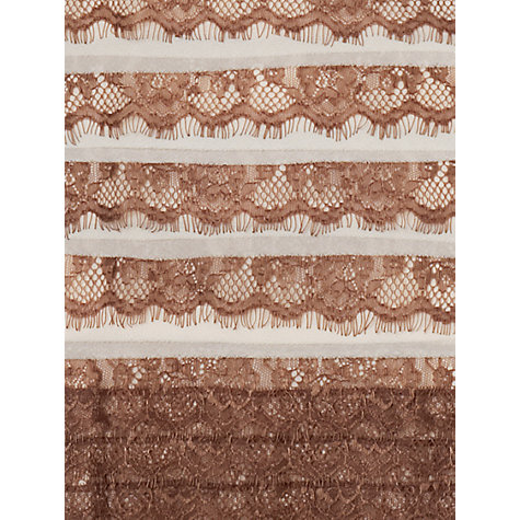 Buy Phase Eight Sonia Layered Lace Dress, Praline/Cream Online at johnlewis.com