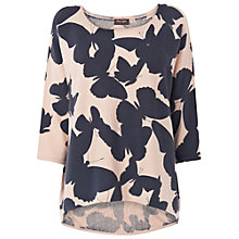 Buy Phase Eight Belle Butterfly Jumper, Navy/Cream Online at johnlewis.com