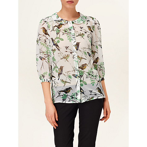 Buy Phase Eight Emmie Bird Blouse Online at johnlewis.com