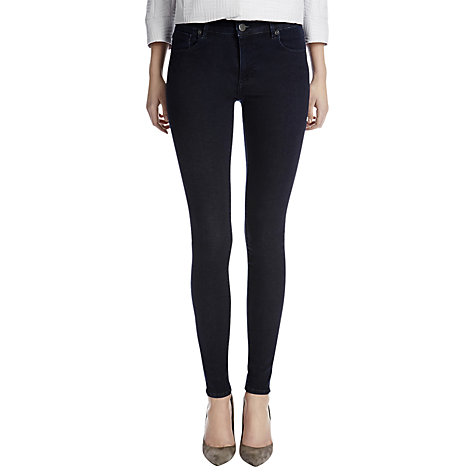 Buy Warehouse Superfit Skinny Jeans, Indigo Online at johnlewis.com