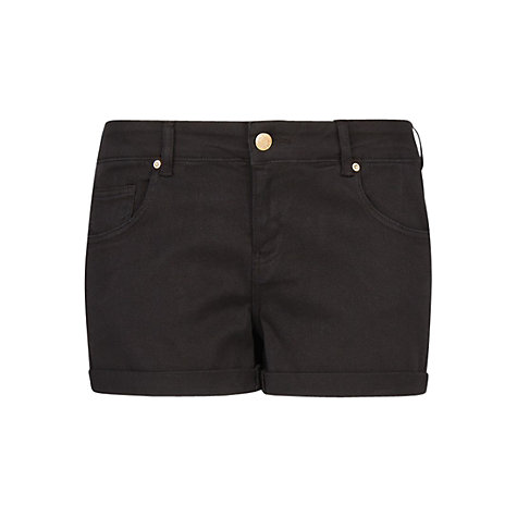 Buy Mango Denim Shorts, Black Online at johnlewis.com