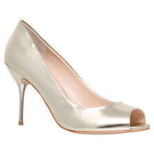 Buy Carvela Geradine Court Shoes, Champagne Online at johnlewis.com