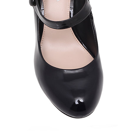 Buy Carvela Kollar Mary Jane Court Heels, Black Online at johnlewis.com