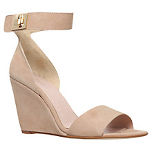 Buy Carvela Kulprit Suede Wedge Heeled Sandals Online at johnlewis.com