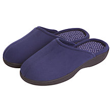 Buy Totes Pillowstep Slippers, Navy Online at johnlewis.com