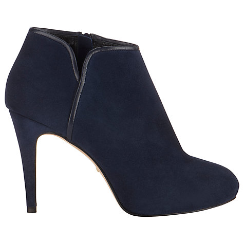 Buy Whistles Bella Ankle Boots, Navy Online at johnlewis.com