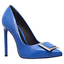 Buy KG by Kurt Geiger Bryrony Leather Buckle Court Shoes Online at johnlewis.com