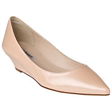 Buy L.K. Bennett Perla Wedge Pumps, Patent Rose Online at johnlewis.com