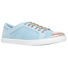 Buy Carvela Lollipop Low Top Trainers, Blue Online at johnlewis.com