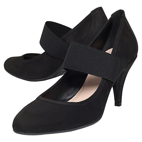 Buy Carvela Arrive Court Shoes, Black Online at johnlewis.com