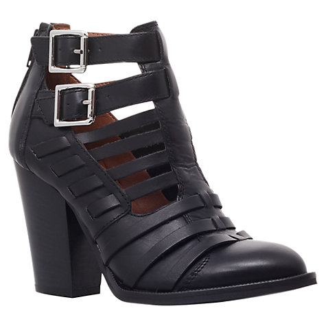 Buy Carvela Silent Ankle Boots, Black Online at johnlewis.com