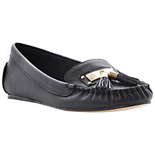Buy Dune Lotus Metal Tassel Trim Leather Moccasin Online at johnlewis.com