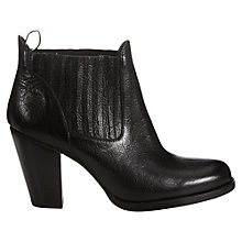 Buy Jigsaw Gable Leather Ankle Boot Online at johnlewis.com