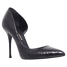 Buy Kurt Geiger Anja Leather Court Shoes Online at johnlewis.com