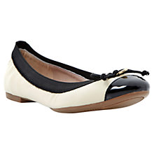Buy Dune Marisa Patent Leather Toe Ballerina Online at johnlewis.com