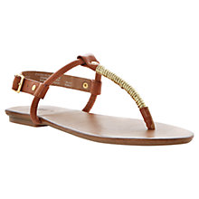 Buy Dune Jamba Leather Sandals Online at johnlewis.com