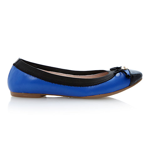 Buy Dune Marisa Patent Leather Toe Ballerinas Online at johnlewis.com