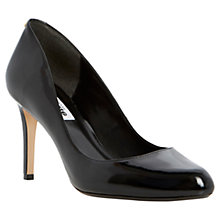 Buy Dune Allie Back Stud Detail Almond Toe Court Shoes Online at johnlewis.com