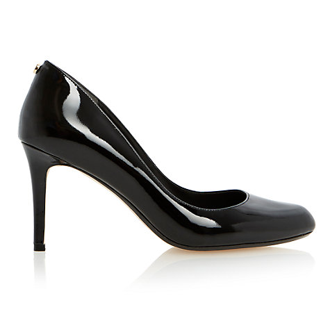 Buy Dune Allie Patent Court Shoes Online at johnlewis.com