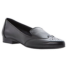 Buy Dune Leeroy Leather Brogue Loafers Online at johnlewis.com