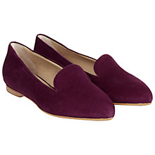 Buy Hobbs Ellen Suede Ballerinas Online at johnlewis.com
