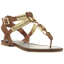 Buy Steve Madden Invasion Sandals, Tan Online at johnlewis.com
