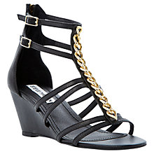 Buy Steve Madden Nataly Leather Sandals Online at johnlewis.com