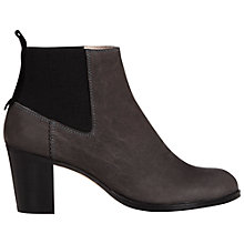 Buy NW3 by Hobbs Dylan Nubuck Ankle Boots, Grey Online at johnlewis.com