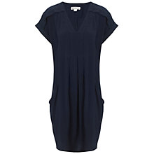 Buy Whistles Adrianne Dress, Navy Online at johnlewis.com