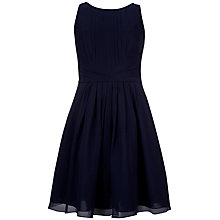 Buy Ted Baker Saphire Wrap Waist Dress, Navy Online at johnlewis.com