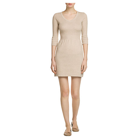 Buy Mango V-Neck Jersey Dress Online at johnlewis.com