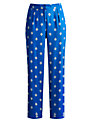 Joules Jilian Trousers, Mid Blue Damask
