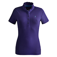 Buy Joules Frilsden Polo Top, Indigo Online at johnlewis.com
