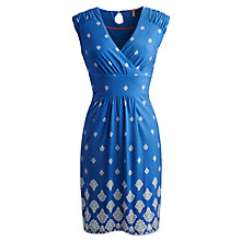 Buy Joules Marilyn Dress, Blue Damask Online at johnlewis.com