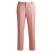 Buy Joules Jacqui Trousers, Bright Red Online at johnlewis.com