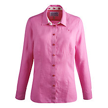 Buy Joules Kingston Shirt, Pink Chambray Online at johnlewis.com