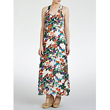 Buy John Lewis Parrot Maxi Beach Dress, Multi Online at johnlewis.com