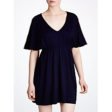 Buy John Lewis Pompom Kaftan, Navy Online at johnlewis.com