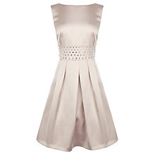 Buy Coast Tammy Mae Dress, Neutral Online at johnlewis.com