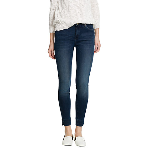 Buy Mango Cropped Audrey Jeans Online at johnlewis.com