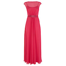Buy Coast Lori Lee Maxi Petite Dress, Hot Pink Online at johnlewis.com