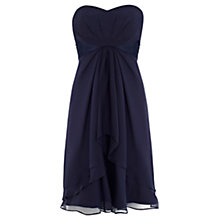 Buy Coast Michegan Short Dress Petite, Navy Online at johnlewis.com