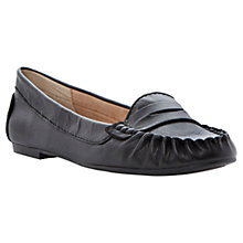 Buy Steve Madden Murphey Leather Moccasins Online at johnlewis.com