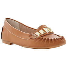 Buy Steve Madden Mistro Metal Trim Moccasins Online at johnlewis.com