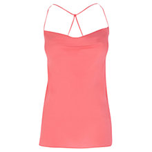 Buy Coast Leelo Camisole Top, Coral Online at johnlewis.com
