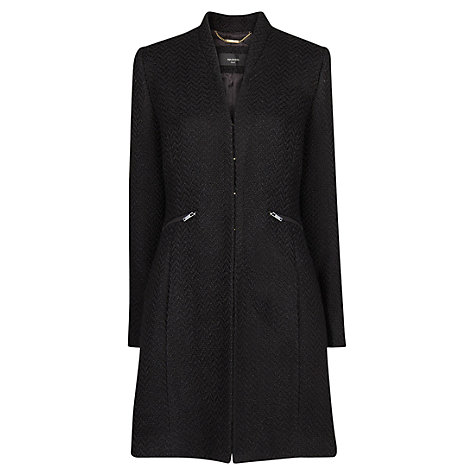 Buy Mango Bouclé Coat Online at johnlewis.com