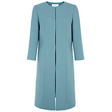 Buy Hobbs Etoile Coat, Kingfisher Blue Online at johnlewis.com